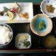 利賀で岩魚定食